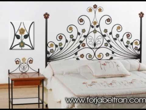 Cabeceros de forja muebles y decoracion en forja youtube for Muebles decoracion