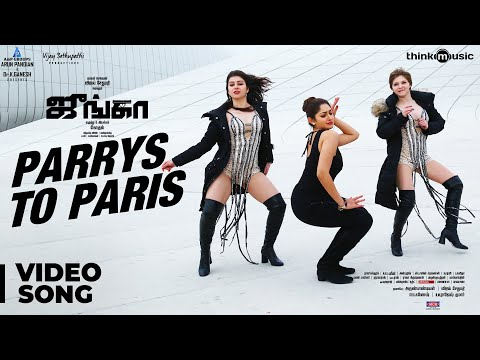 Junga | Parrys To Paris Video Song | Vijay Sethupathi, Sayyeshaa | Siddharth Vipin | Gokul