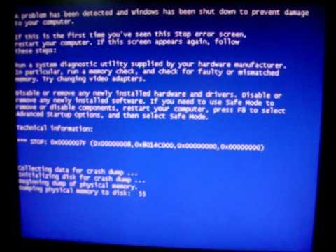 Windows Vista Instant BSOD (7F) When Unplugging Dazzle Capture Card