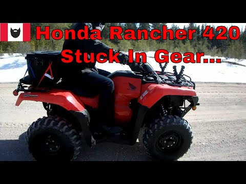 Problems With The 2017 Honda Rancher 420