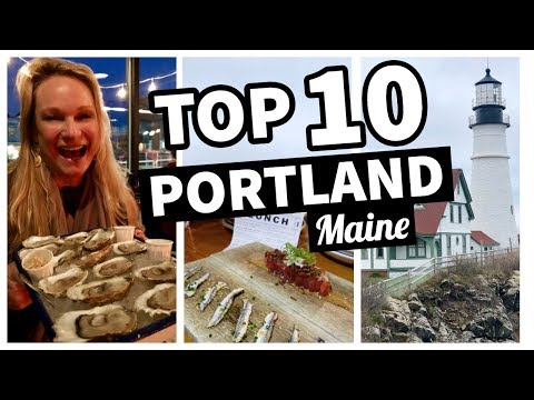 Things to do in portland maine august 2018