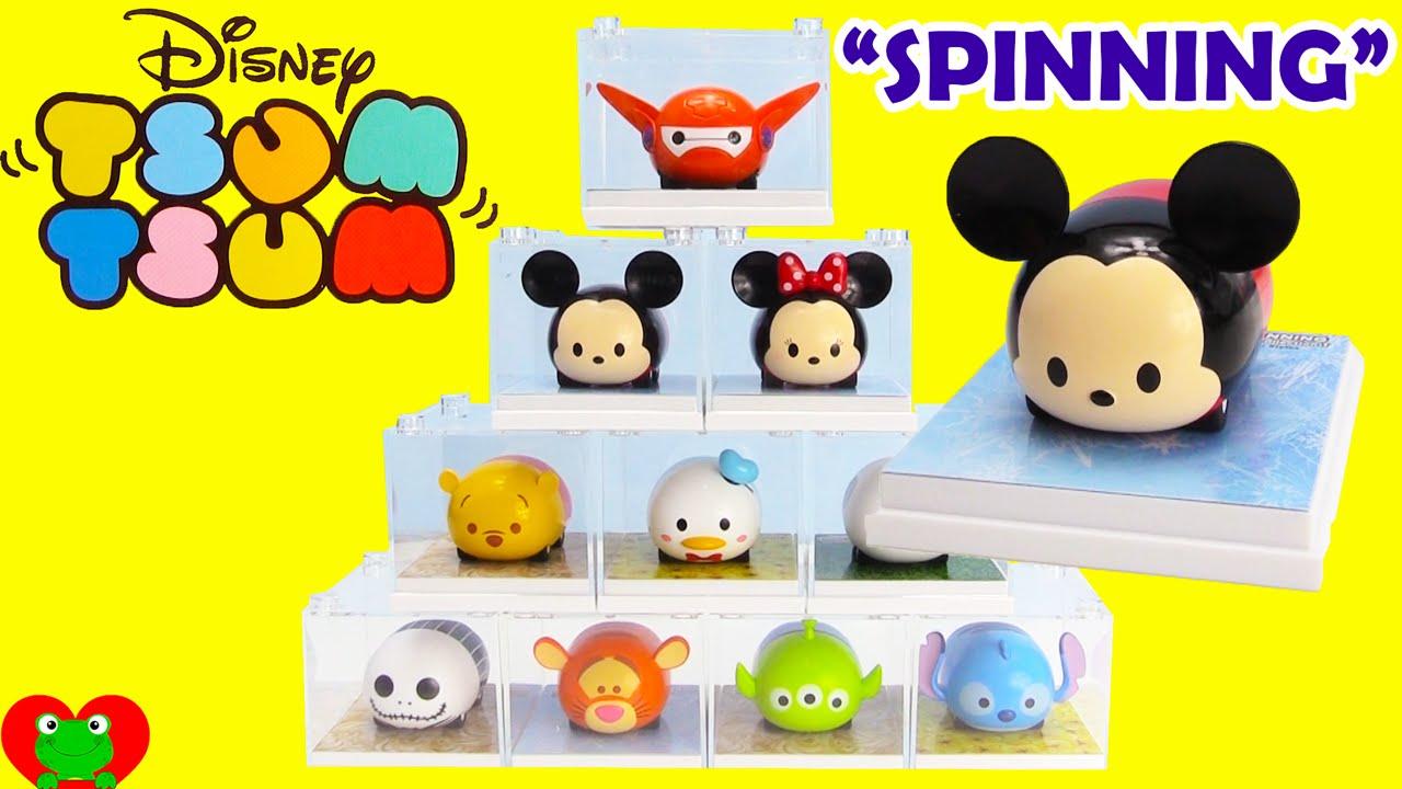 Disney tsum tsum spinning car collection youtube for Tsum tsum watch