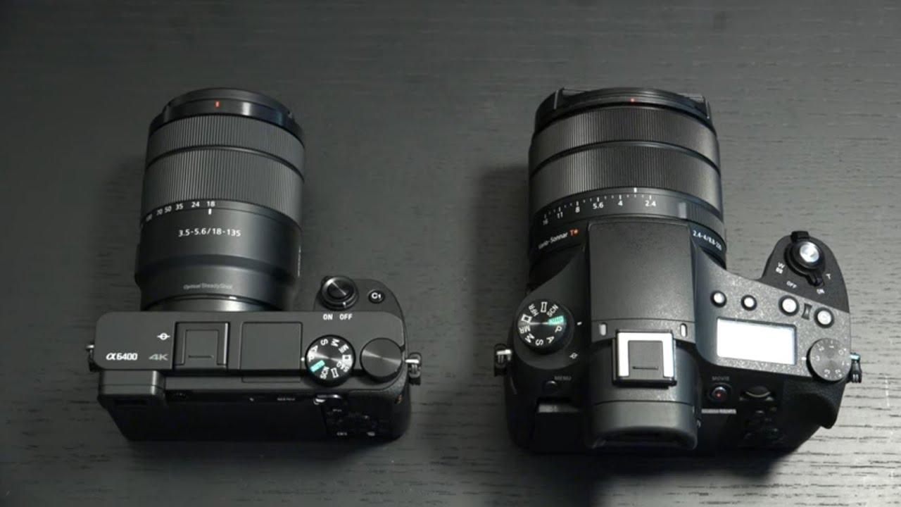 Sony A6400 vs RX10M4
