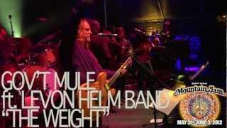 "Gov't Mule (ft. Levon Helm Band) - ""The Weight"" - Mountain Jam VIII - 6/2/12"