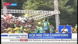 Kenya Rugby 7s Captain Jacob Ojee contributed 18 points to help KCB defend Kenya Cup title