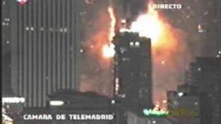Incendio del Edificio Windsor , Madrid Febrero 2005