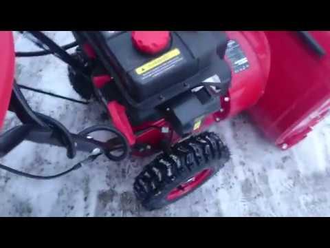 Снегоуборочная машина ELITECH