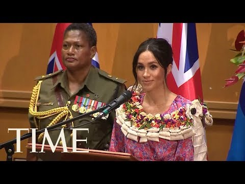 Meghan Markle Has Given Her First Royal Tour Speech | TIME