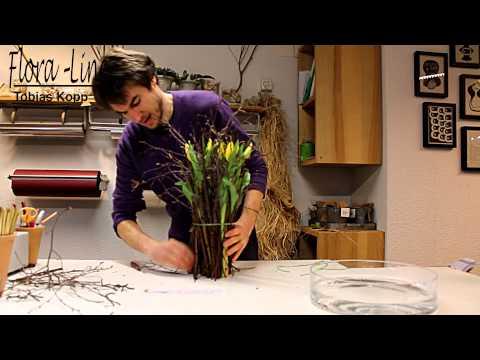 blumenstrau binden wie die profis ihre anleitung von doovi. Black Bedroom Furniture Sets. Home Design Ideas