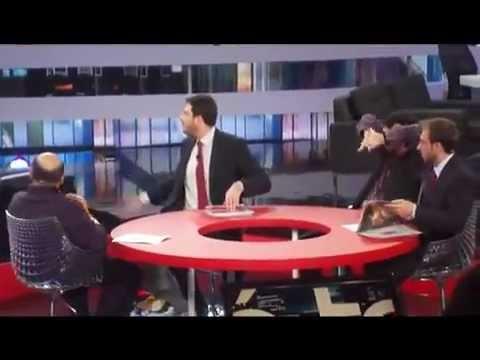 BRIGA NO PROGRAMA AGORA É TARDE(Danilo Gentile) !  Marcelo Mansfield X Léo Lins