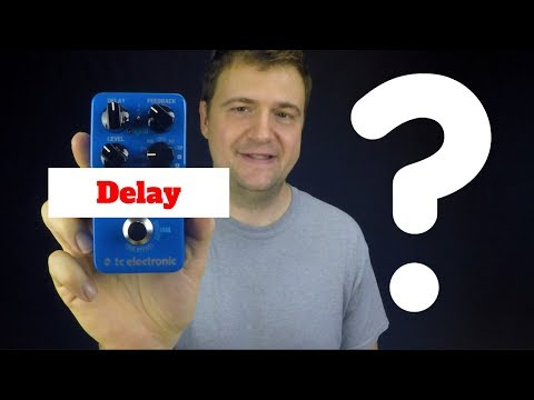 Delay Pedal for Jazz Guitar? - Jazz Guitar Vlog - August 9 2017