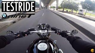 Testride (Bukan review) BMW R Nine-T nya Den Dimas - Motovlog #56