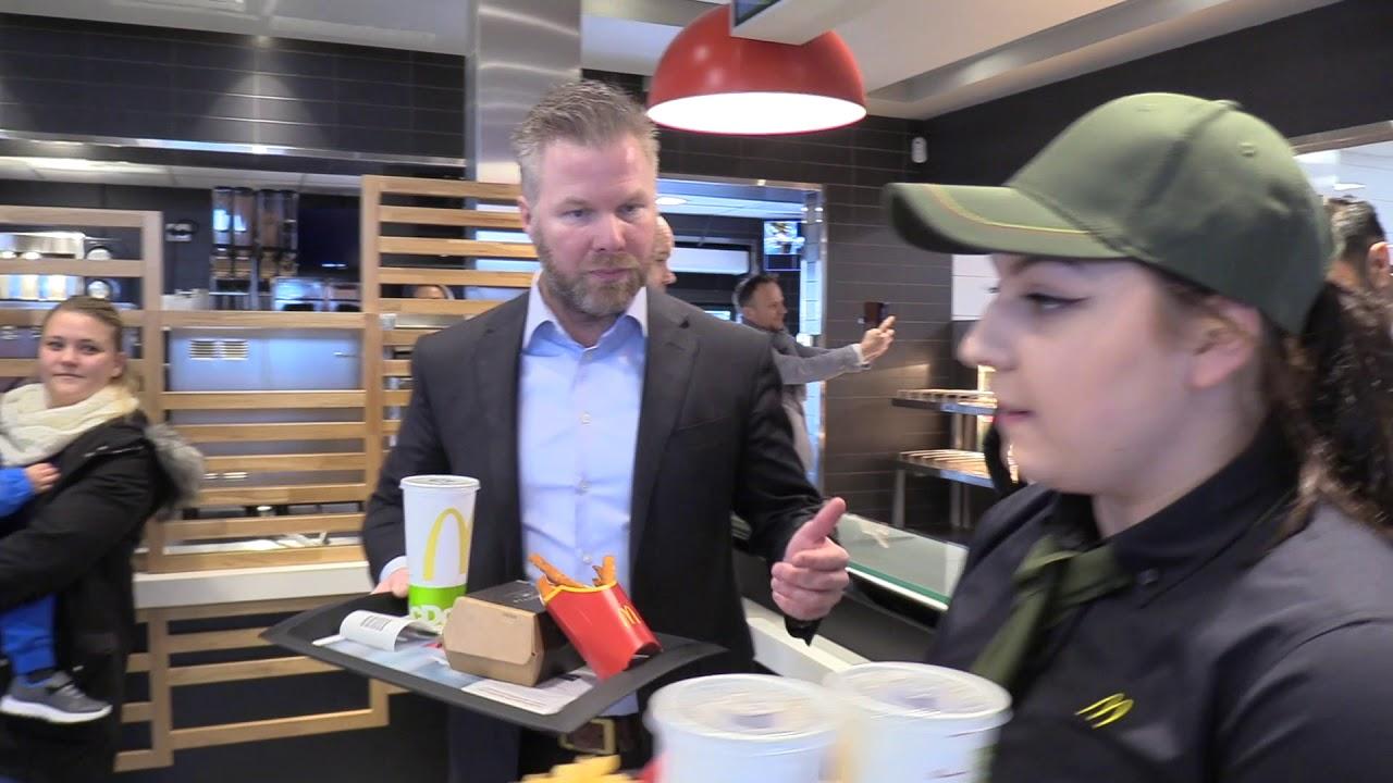 McDonald's åpner på Sola