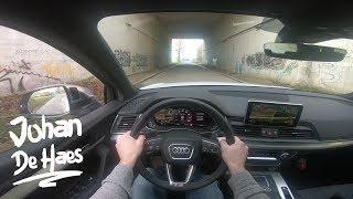 2018 Audi SQ5 354 hp POV test drive