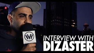 HHVtv - Dizaster Interview (HIP HOP VANCOUVER)