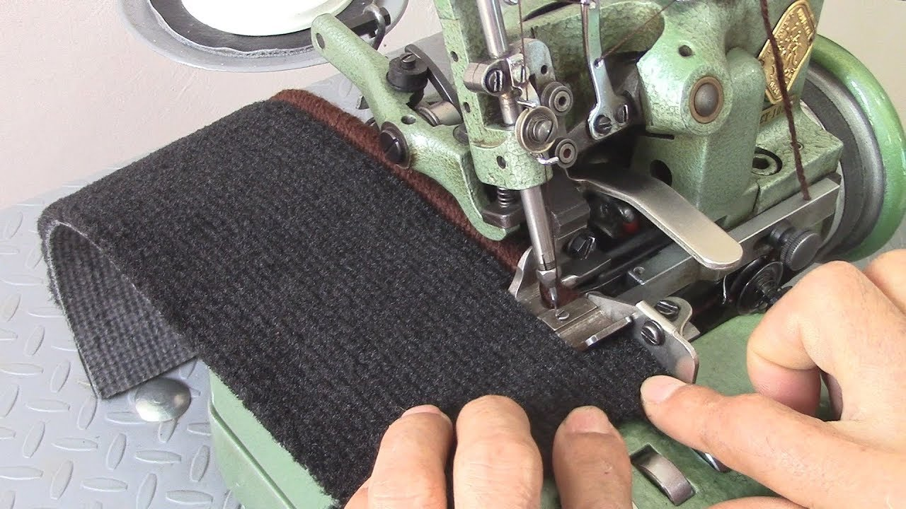 How To Thread A Carpet Serger Sewing Machine Car Upholstery Youtube