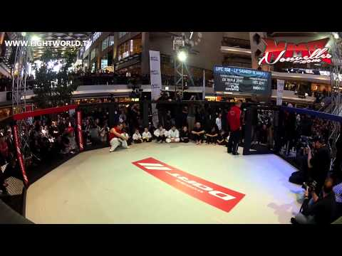UFC 158 - GSP Works Out With Children - Complexe Desjardins