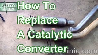How To Replace A Catalytic Converter - Chrysler Town & Country 3.8L