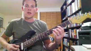 How to Solo Over 7th Chords