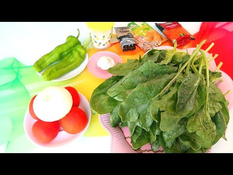 Шпинат по-корейски. Вкуснейший салат из шпината. Пальчики оближешь!