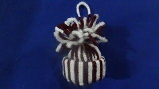 Episodio 38 Gorritos de estambre para el árbol de Navidad