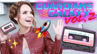 GUARDIANS OF THE GALAXY CASSETTE TAPE COOKIES - NERDY NUMMIES by : Rosanna Pansino