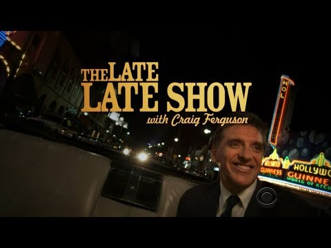 The Late Late Show with Craig Ferguson 2014.11.18 Jane Lynch, Metallica.