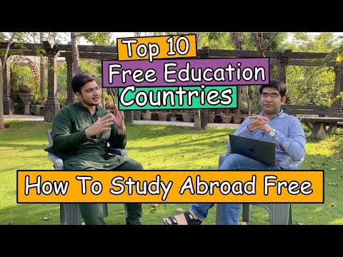 How To Study Abroad Free | Top 10 Countries With Free Education | India & Pakistan | Edify Group