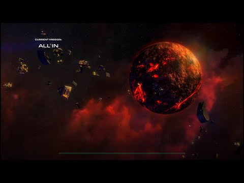"Starcraft 2 Wings of Liberty: ""All In"" (vs Air) Brutal - Destroy All Zerg Bases"