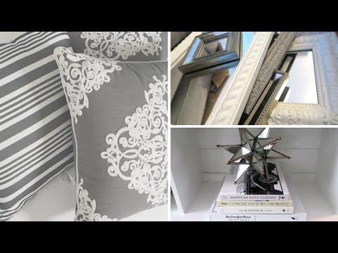 HOME IMPROVEMENT & DECOR IDEAS   Living Room Tour & Makeover Reveal