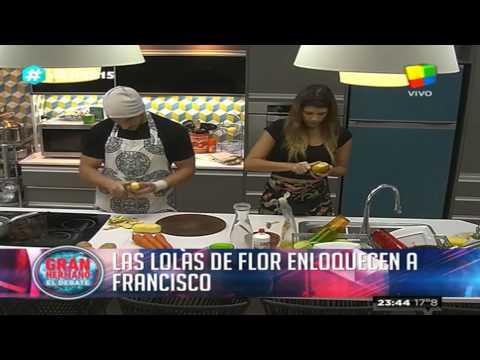 Francisco se sinceró y le elogió algo en particular a Florencia