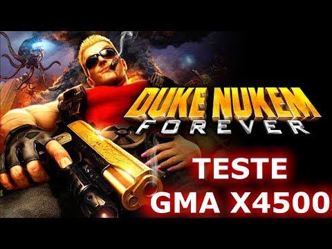 TESTE DESEMPENHO DUKE NUKEM FOREVER GMA X4500 PC FRACO SEM PLACA DE VIDEO 2019