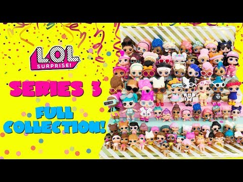 LOL Surprise Series 3 FULL COLLECTION Big Sisters Little Sisters