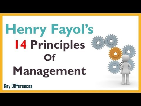 Henry Fayol's 14 Principles Of Management