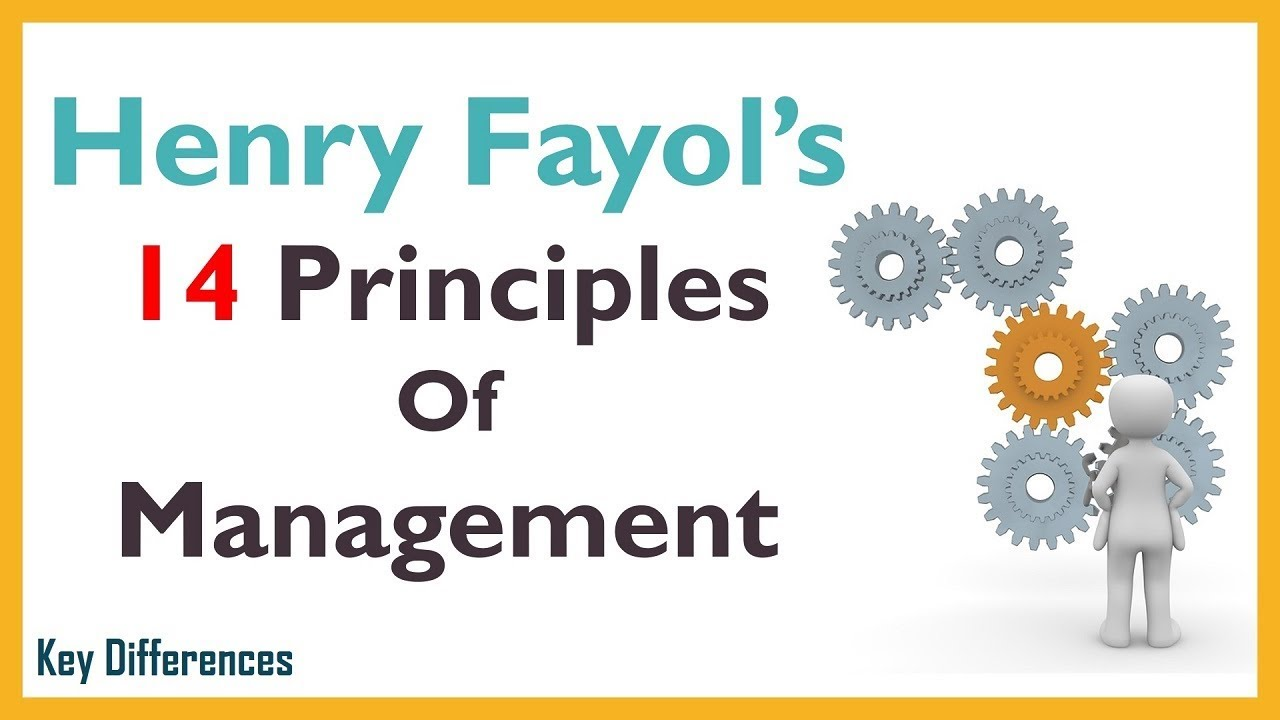 Henry fayol principle of management in hindi