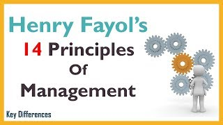 Henry Fayol's 14 Principles of Management