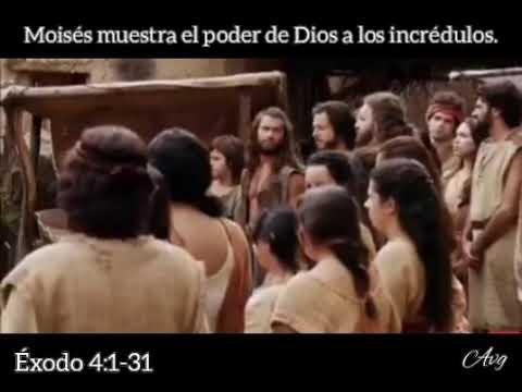 Moisés Muestra El Poder De Dios A Los Incrédulos!