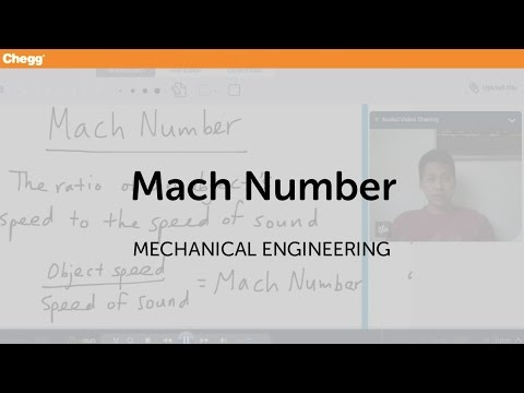 Mach Number | Mechanical Engineering | Chegg Tutors