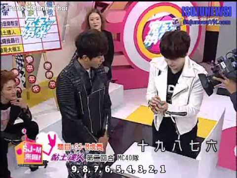 [Vietsub] Total Entertainment (Showbiz) - Super Junior M ngày 08/03/2013 phần 3