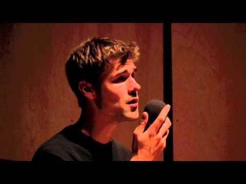 """Ryan Quinn sings """"Hero and Leander"""""""