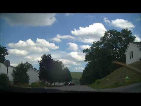 Steep Streets Of Altoona, Pennsylvania