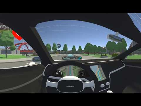 TomTom Virtual Reality Driving Experience