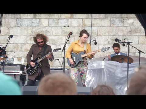 "Angel Olsen  ""Those Were The Days"" W/ Jim James (My Morning Jacket)  Newport Folk Festival 07.29.17"