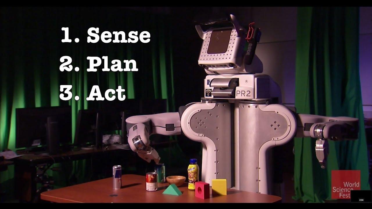 How Robots Sense, Plan, and Act