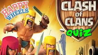 Clash Of Clans Quiz... Derp! | Happy Wheels | Gameplay Part 69
