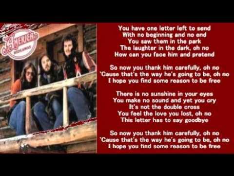 America - Letter (+ lyrics 1976)