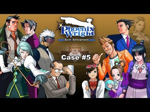 Phoenix Wright Ace Attorney Walkthrough Case 5 Rise From The Ashes