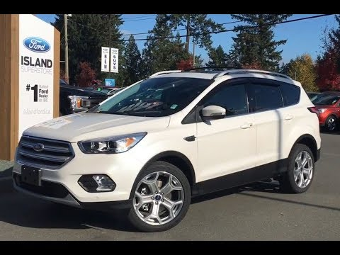 2018 Ford Escape Titanium Ecoboost AWD Review| Island Ford