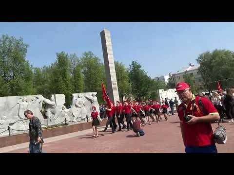 Военный парад в Подольском гарнизоне.