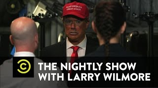 The Nightly Show - Backstage with Donald: The Quiet Before the Rage